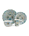 32pc Aisha Dinnerware Set
