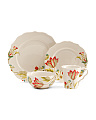 32pc Bella Donna Dinnerware Set