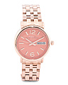 Women's Fergus Rose Gold Tone Bracelet Watch