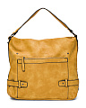 Top Handle Hobo Bag