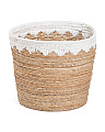 Large Natural Storage Bin