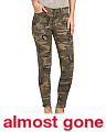 Juniors Camo Seamed Pants