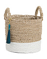 Small Seagrass Raffia Basket
