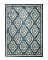 Made In The USA 5x7 Damask Pattern Area Rug