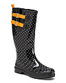 Polka Dot High Shaft Rain Boots