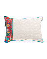 Made In India 16x24 Embroidered Pillow