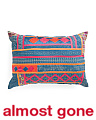 Made In India 28x20 Embroidered Pillow