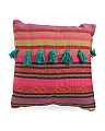 Made In India Woven Pillow