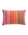 Made In India 24x16 Woven Pillow