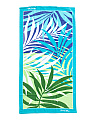 Palm Leaf Printed Beach Towel