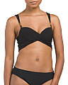 Twist Underwire Camisole Swim Top