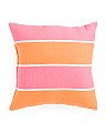 18x18 Indoor/Outdoor Stripe Pillow