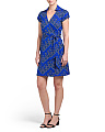 Jilda Dot Print Wrap Dress