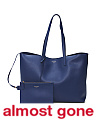 Made In Italy Large Unstructured Leather Tote