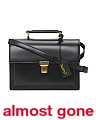 Made In Italy Small High School Leather Satchel