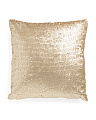 20x20 All Over Sequin Pillow