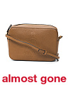 Made In Italy Small Camera Grained Leather Bag