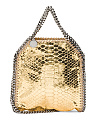 Made In Italy Metallic Gold Falabella Tote