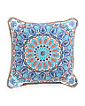 20x20 Indoor Outdoor Reversible Medallion Pillow