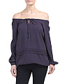 Oversized Blouson Top