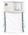 40x84 Set Of 2 Pom Pom Trim Curtains
