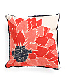 20x20 Chainstitched Floral Pillow
