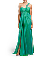 Lacey One Shoulder Gown
