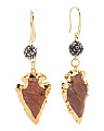 Madagascar Arrowhead Earrings