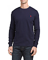 Long Sleeve Thermal Crew Neck Top
