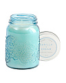 12oz Flower Molded Candle Jar