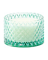 10oz Molded Glass Candle Jar