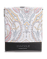 Jordana Damask Border Shower Curtain