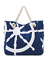 Oversized Skylar Canvas Beach Tote