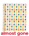 Whimsy Pineapple Spiral Notebook