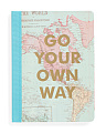 Map Print Journal