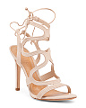 Lacie Strappy Leather Heels