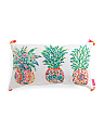 14x24 Indoor Outdoor Pineapple Pillow
