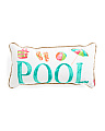 14x27 Indoor Outdoor Pool Pillow
