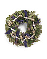 22in Lavender And Leaves Wreath