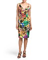 Made In USA Liz Tropical Print Dress
