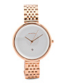 Women's Gitte Bracelet Watch In Rose Gold