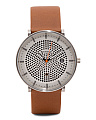 Men's Hald Solar Powered Leather Strap Watch