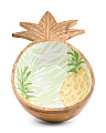Indoor Outdoor Pineapple Motif Bowl