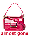 Made In Italy Mini Miss Viv Carre Patent Leather Bag