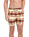 Chairs Print Swim Trunks