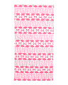 Kids Fiber Reactive Velour Print Towel
