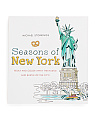 Seasons Of New York Coloring Book