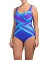 Plus Ombre One-Piece Swimsuit