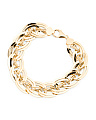 Made In Italy 14k Gold Oval Link Bracelet