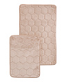 2pk Foam Density Bath Rugs
